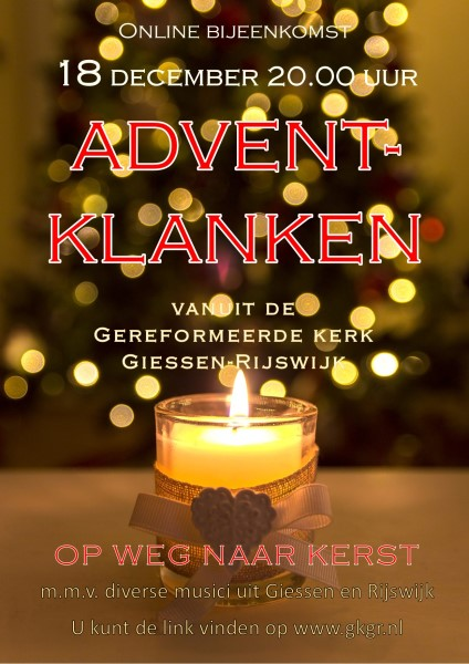 2020 Poster Advent-klanken